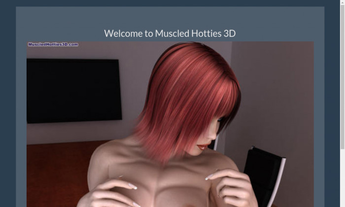 muscled hotties 3d