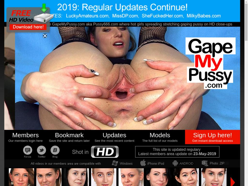 Gape That Pussy - gape my pussy – Porn Password Scope