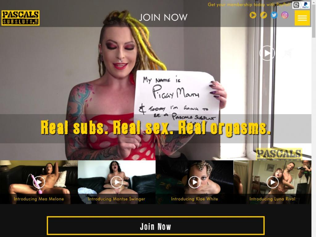 Sluts pascals sub Gesamte Videos