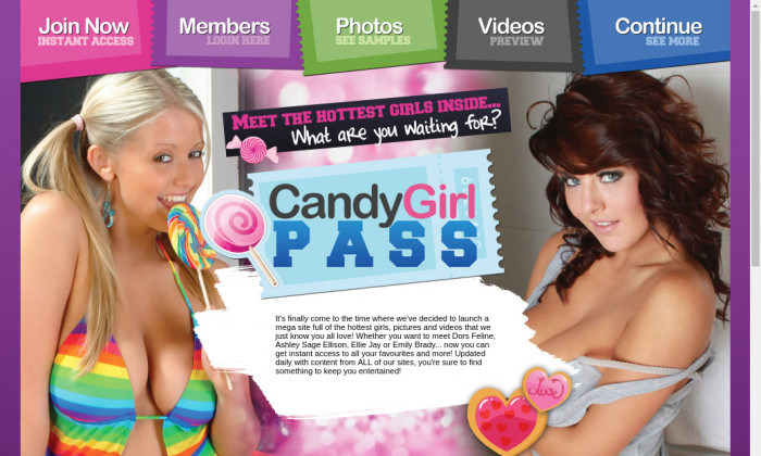 candy girl pass