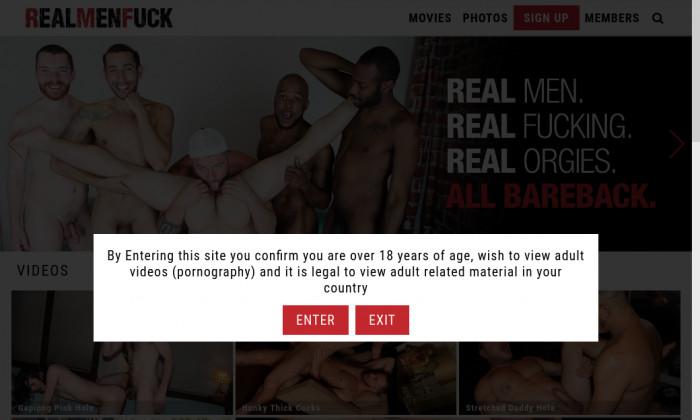 real men fuck